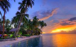 Beachfront Sunset