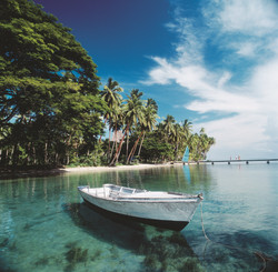 Boat Trip - Fiji Islands