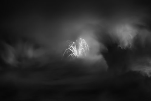 Flares in the Night Fine Art Print