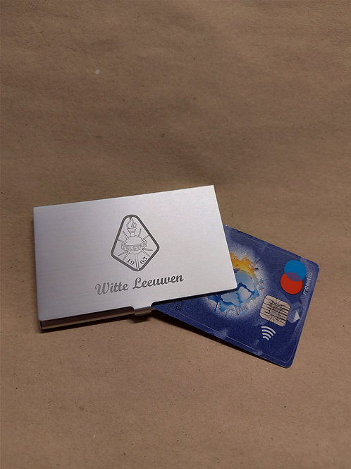 Creditcard- cq. visitekaartjeshouder