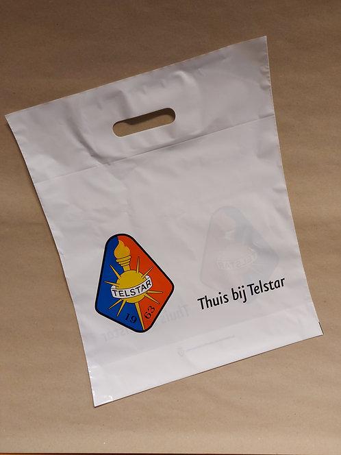 Plastic -Thuis bij Telstar- boodschappentas