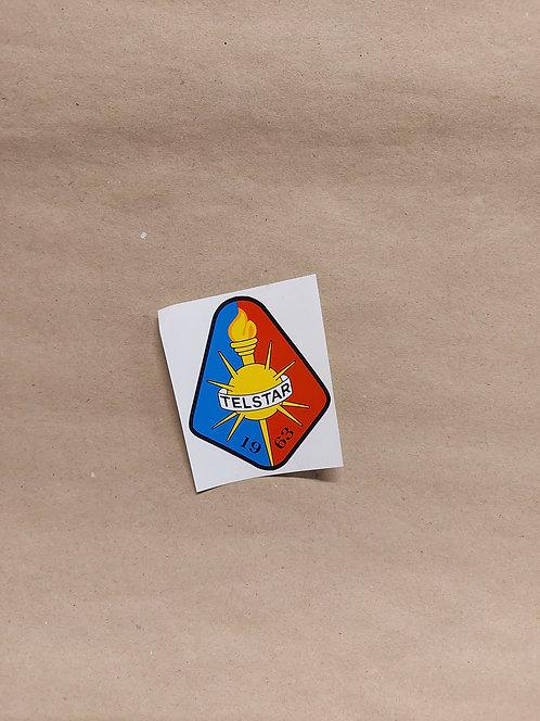 Sticker met Telstar logo