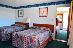 Double Room with two double bedsize
