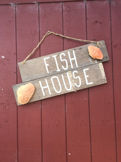 Fish House Entrance