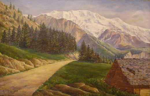 Vue de montagne