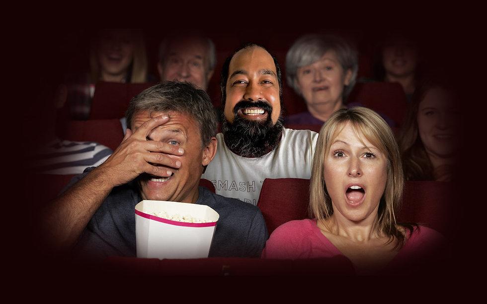 fan edit in a movie theatre