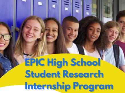 2020 EPIC Internship Application
