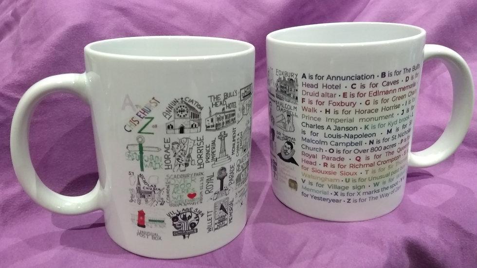 A to Z of Chislehurst mug
