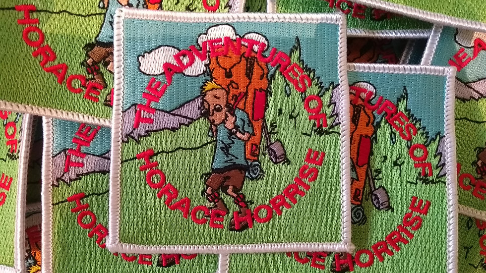 Horace Horrise Embroidered Badge