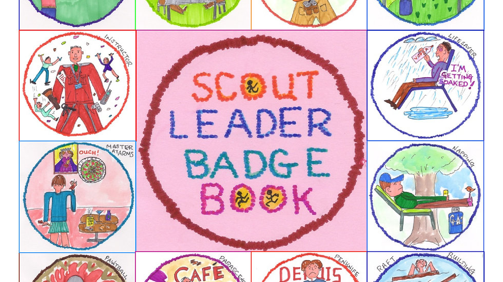 Scout Leader Badge Book