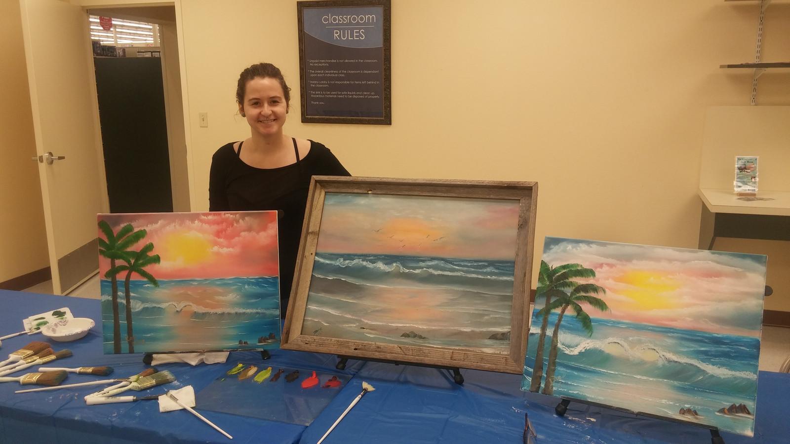 Bob Ross Workshop Florida Pop Up Painting Org Bob Ross Classes