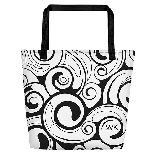 Black Swirl Bag