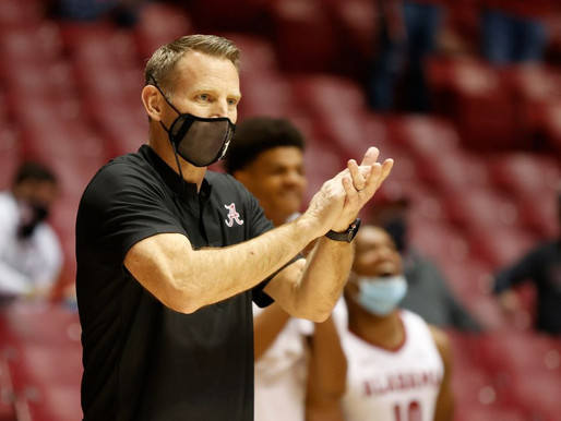 Alabama jumps to No. 9 in AP basketball poll