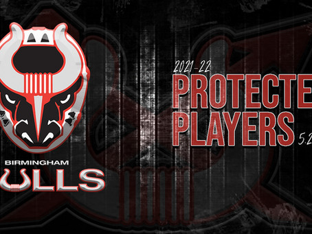 Birmingham Releases the 2021-22 Protected Players List