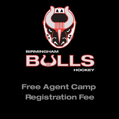Free Agent Camp Registration Fee