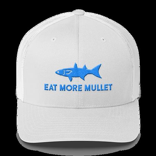 White Mullet Snapback