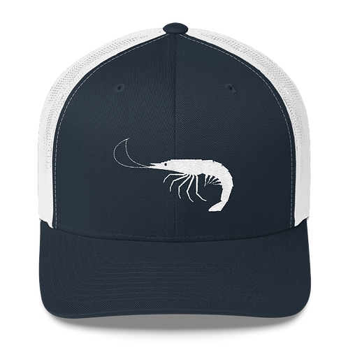 Navy/White Shrimp Snapback