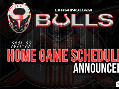 2021-22 Home Game Schedule Announced