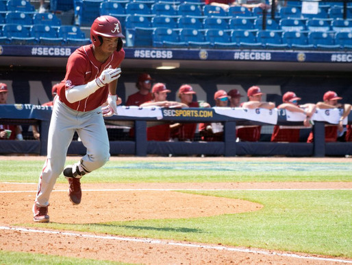 Alabama upsets 2-seed Tennessee in SEC baseball tournament, 3-2 in 11 innings