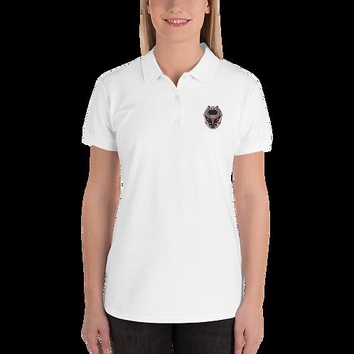 Women's Polo - White