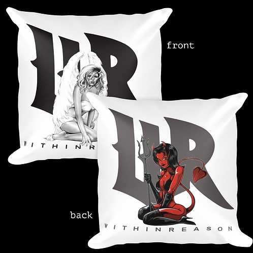 Double Sided Angel/Devil Pillow