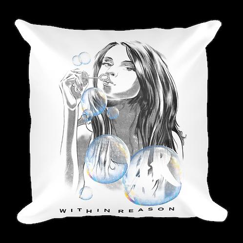 Bubble Girl Pillow