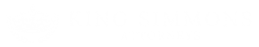 King Simmons logo long white.png