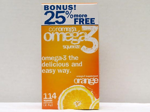 Coromega Omega 3 Squeeze Supplement