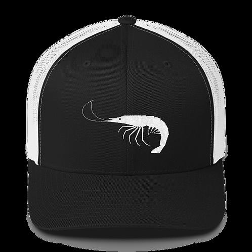 Black/White Shrimp Snapback