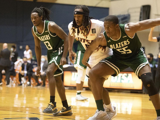 UAB Men's Basketball Earns 19th Victory in 64-57 Win Over UTSA