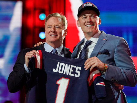 Comfortable in his own skin, Mac Jones perfect for Patriots