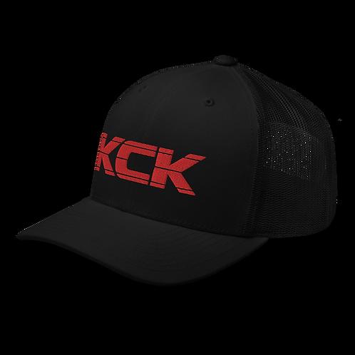 KCK Trucker - Black/Red