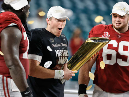 Unstoppable, Unbreakable, Unbeatable: Alabama Is Back on the College Football Mountaintop
