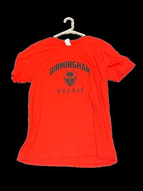 Red Birmingham Hockey 2020-21 Hoodie