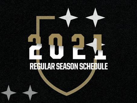 Legion FC'S 2021 USL Championship schedule unveiled