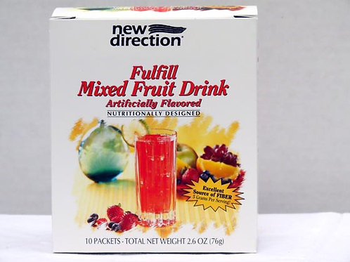 Fiber Drink - New Direction Fulfill Fruit Drink