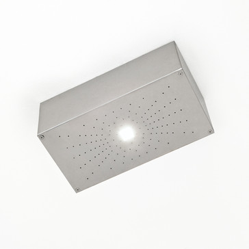 SHOWER WITH INTEGRATED LIGHT