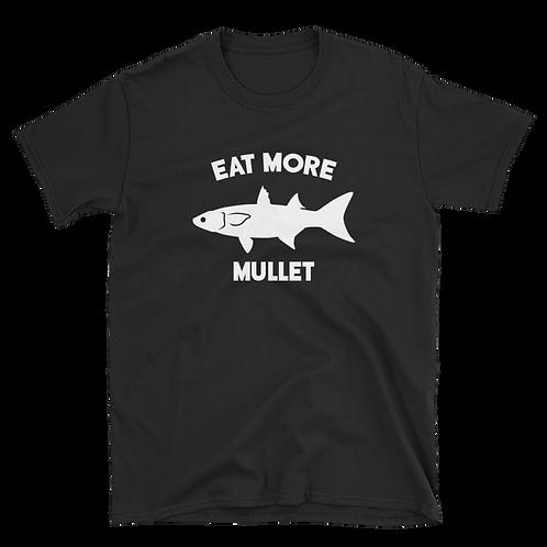 Black/White Eat More Mullet Tee