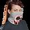 Thumbnail: Grey Logo Neck Gaiter