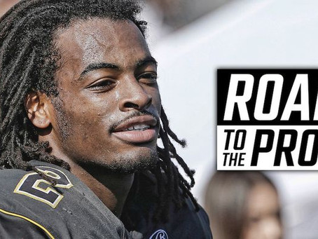 The story of Najee Harris' childhood, first brush with football fame
