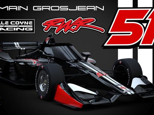 Formula 1 Veteran Romain Grosjean Joins Dale Coyne Racing with RWR for 2021 NTT INDYCAR SERIES