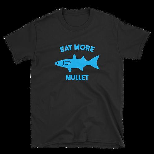 Black/Blue Eat More Mullet Tee