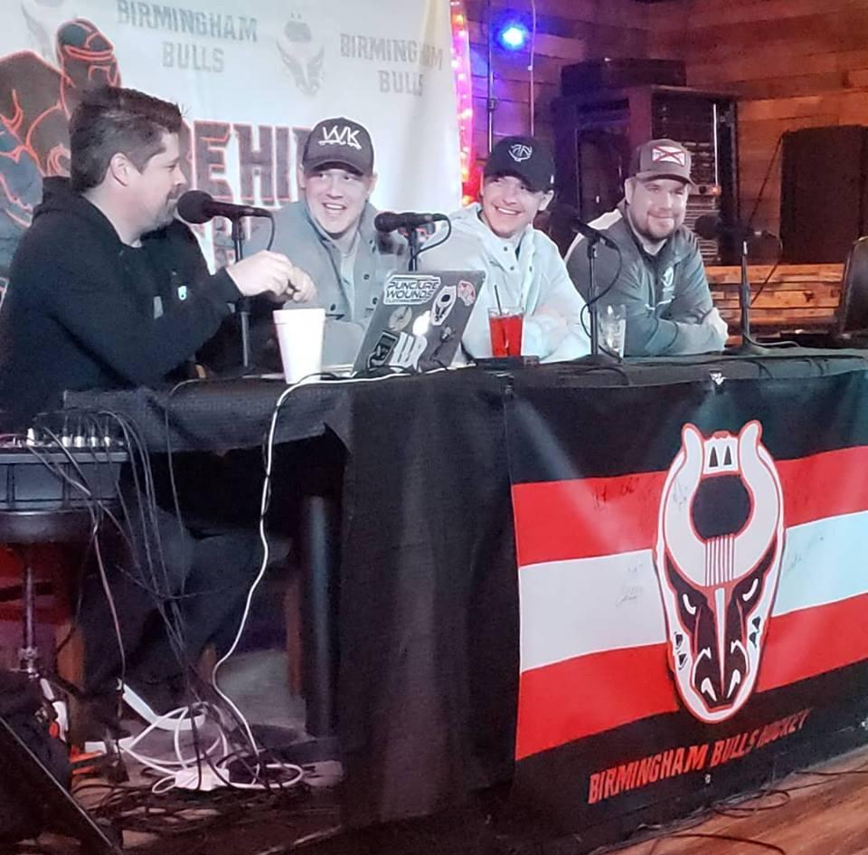 Kasey Kulczycki, Garrett Schmitz, Craig Simchuk