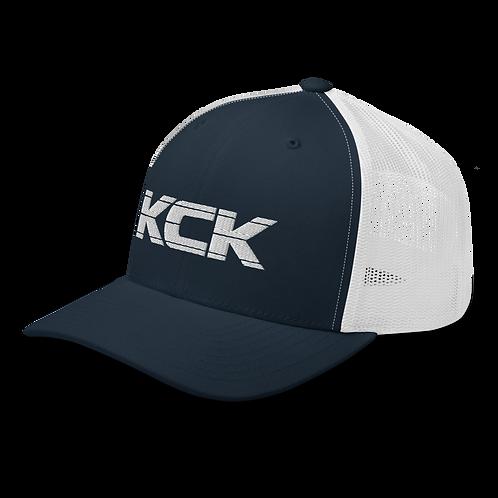 KCK Trucker - Navy/White