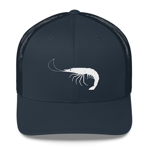 Navy Shrimp Snapback