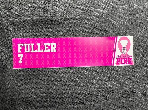 Matt Fuller  - Pink Magnetic Locker Plate