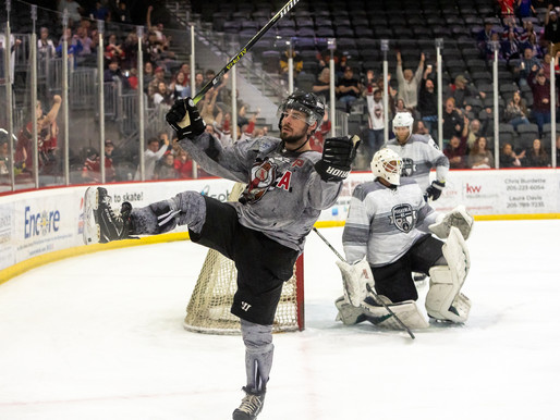 Birmingham Closes out the Season with a 3-1 Victory Over Ice Flyers