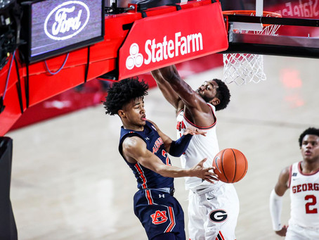 Sharife Cooper puts on a show as Auburn cruises past Georgia for 1st SEC win