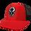 Thumbnail: Red/Black Mesh Snapback