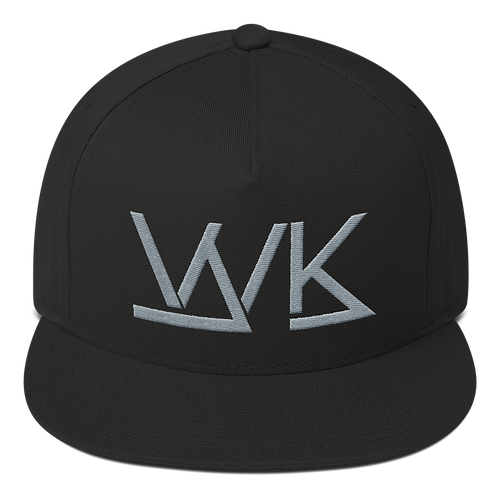 5 Panel Black/Grey Logo